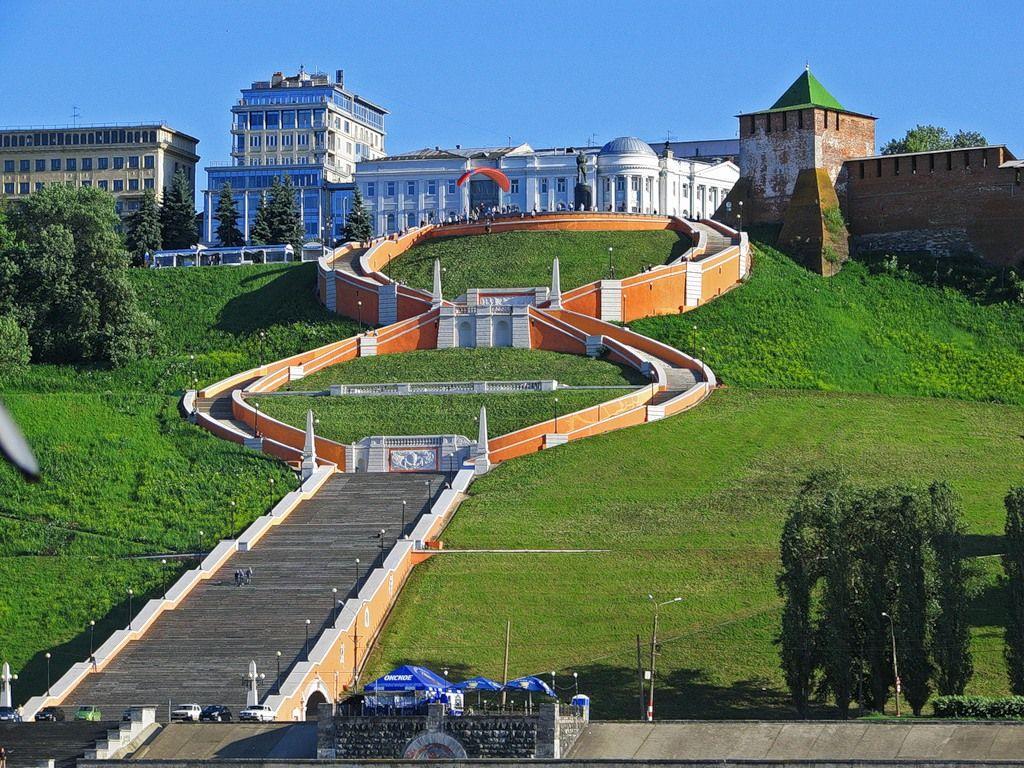 Чкаловская лестница, Нижний Новгород
