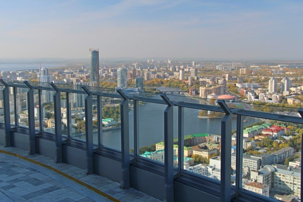Бизнес-центр «Высоцкий», Екатеринбург