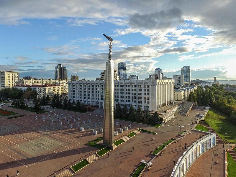 Площадь Славы, Самара