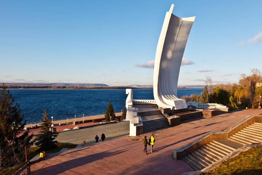 Монумент «Самарская ладья», Самара
