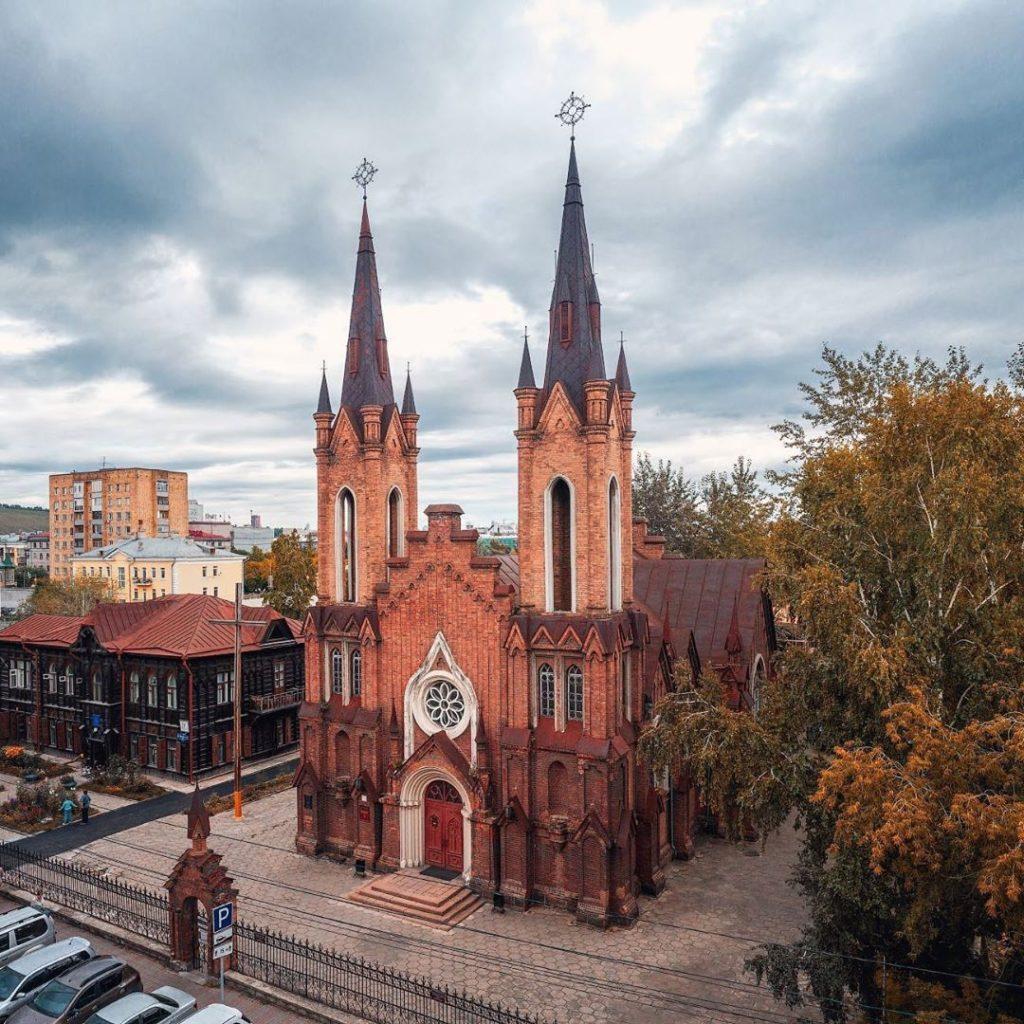 Храм Преображения Господня, Красноярск