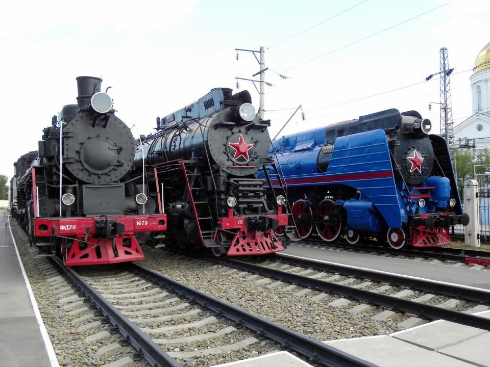 Музей железнодорожной техники СКЖД, Ростов-на-Дону