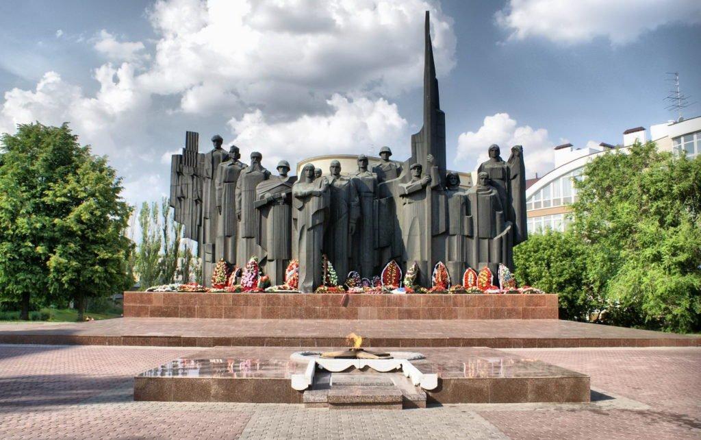 Площадь победы, Воронеж