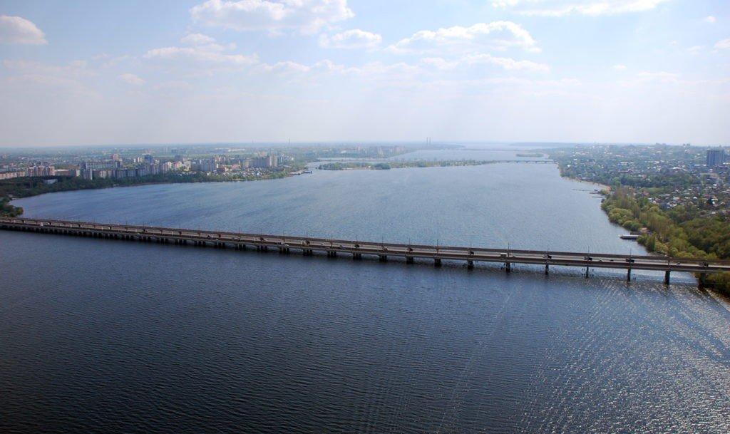 Воронежское водохранилище, Воронеж