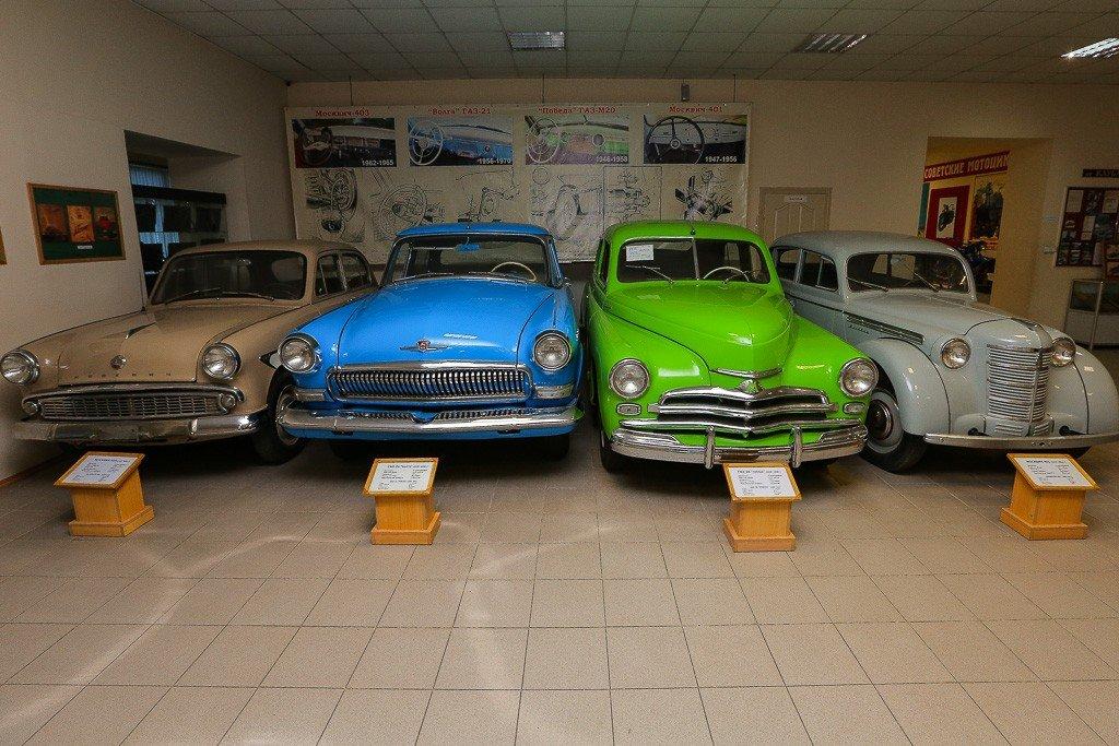 Музей автомотостарины, Владивосток