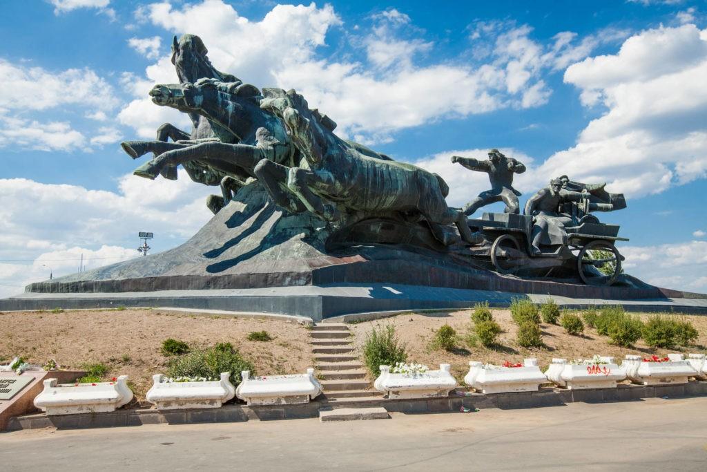 Памятник «Тачанка-Ростовчанка», Ростов-на-Дону