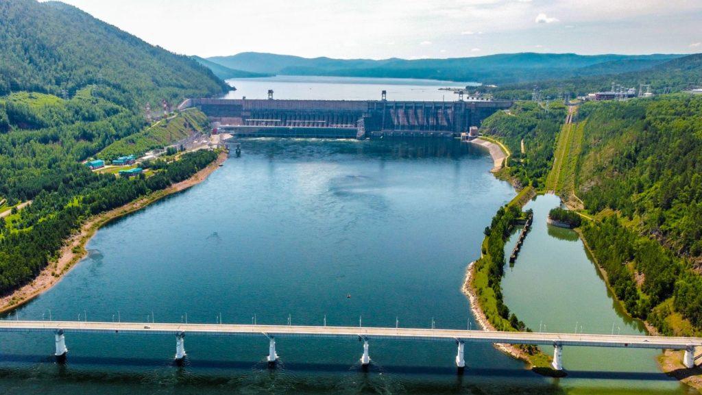 Красноярская ГЭС, Красноярск