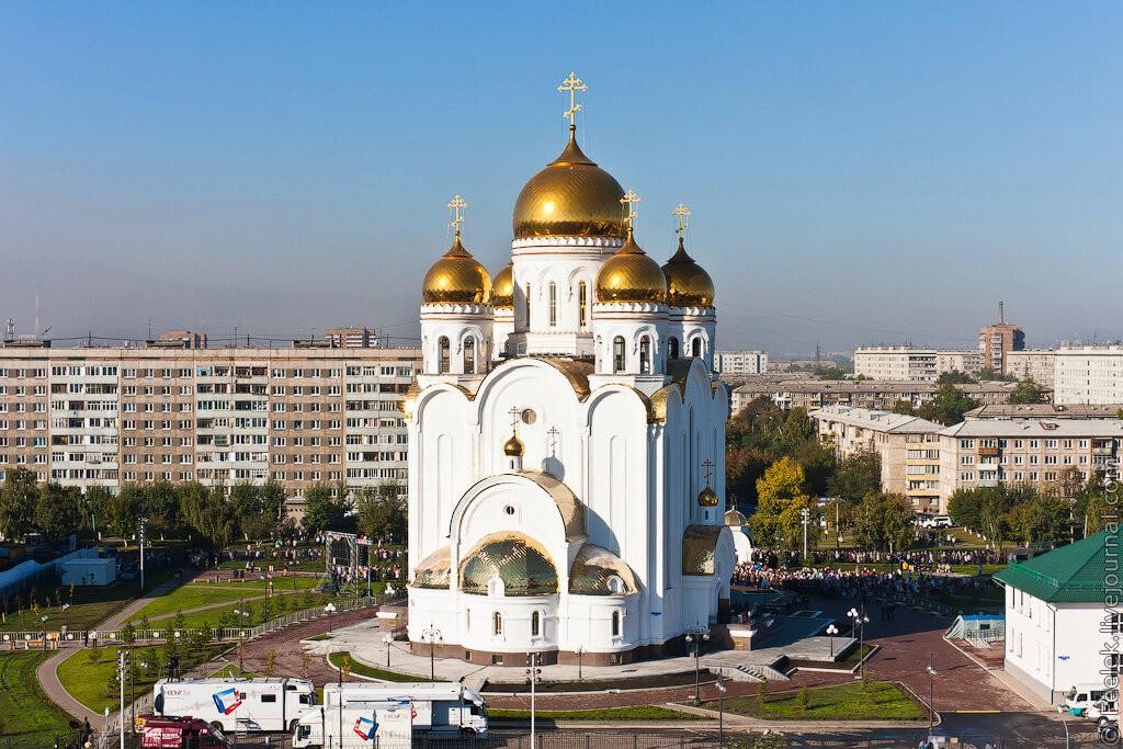 Храм Рождества Христова, Красноярск