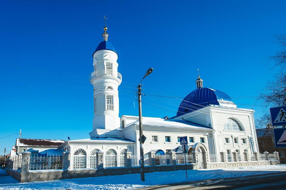 Белая мечеть, Астрахань