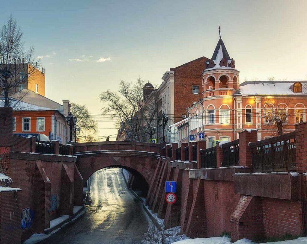 Каменный мост на ул. Карла Маркса, Воронеж