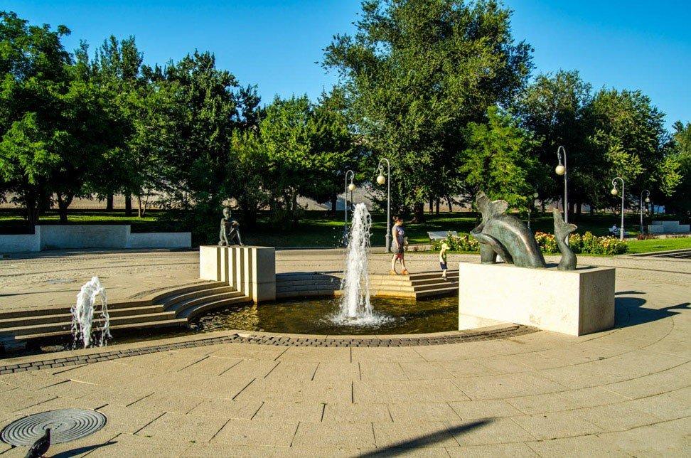 Площадь Ленина, Астрахань