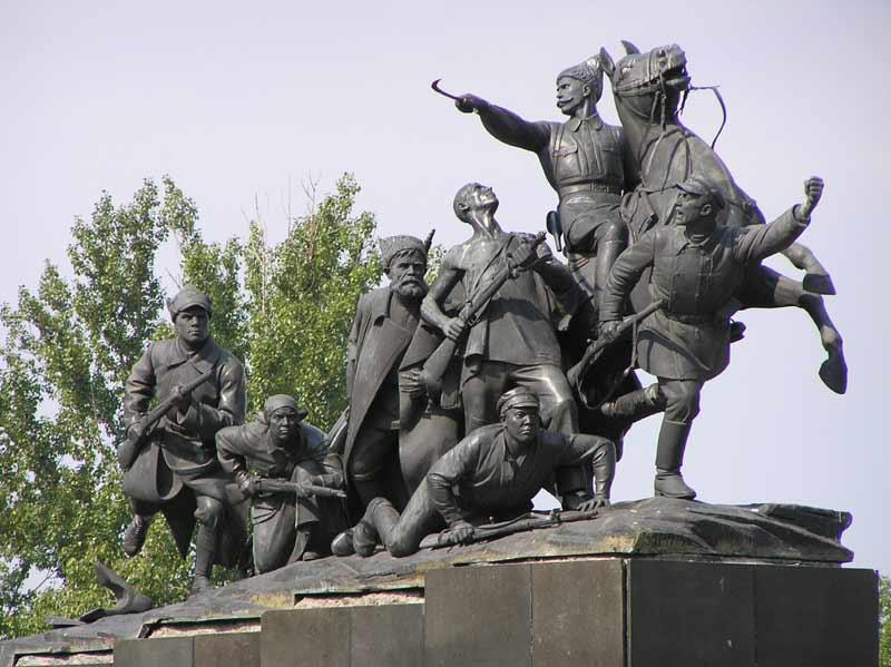 Памятник Чапаеву, Самара