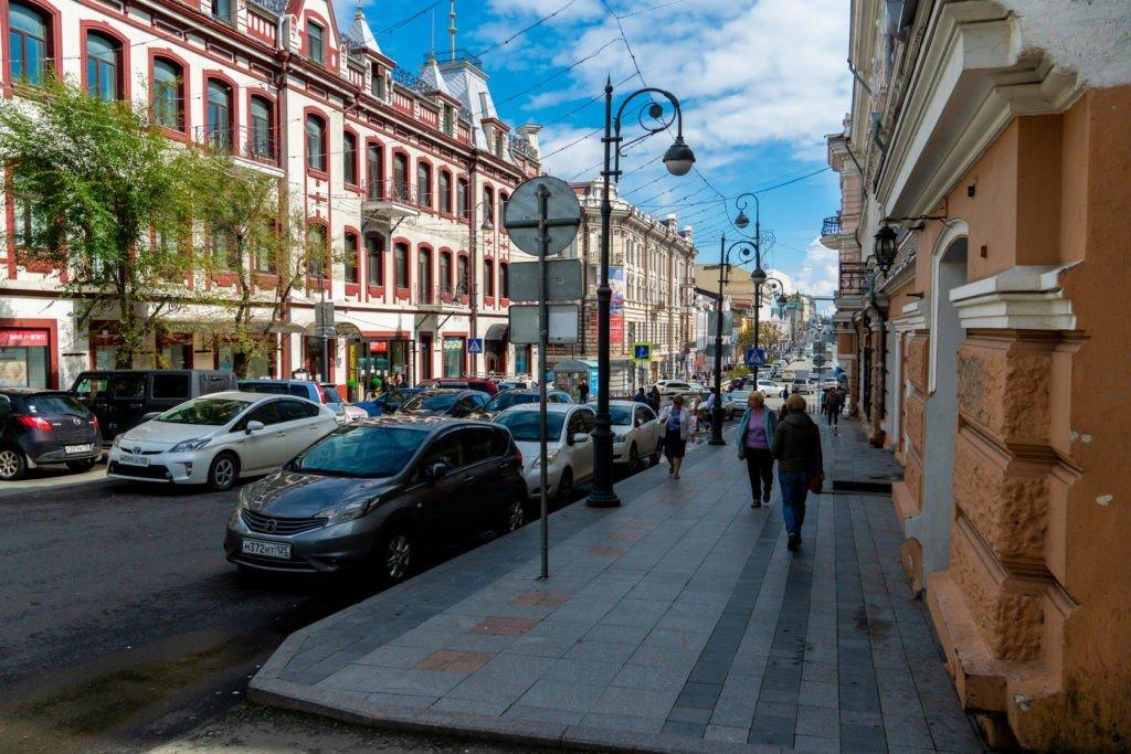 Светланская улица, Владивосток
