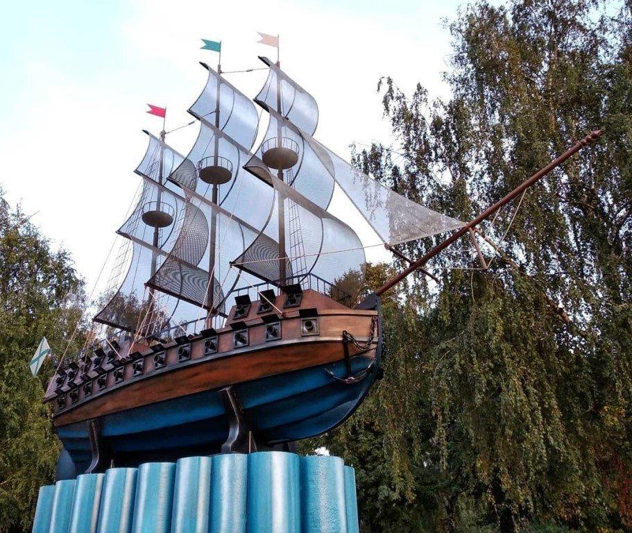 Корабль-памятник «Меркурий», Воронеж