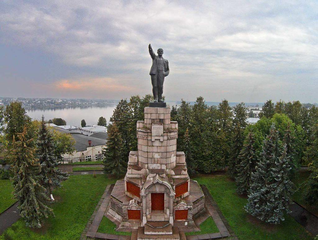 Памятник Владимиру Ленину, Кострома