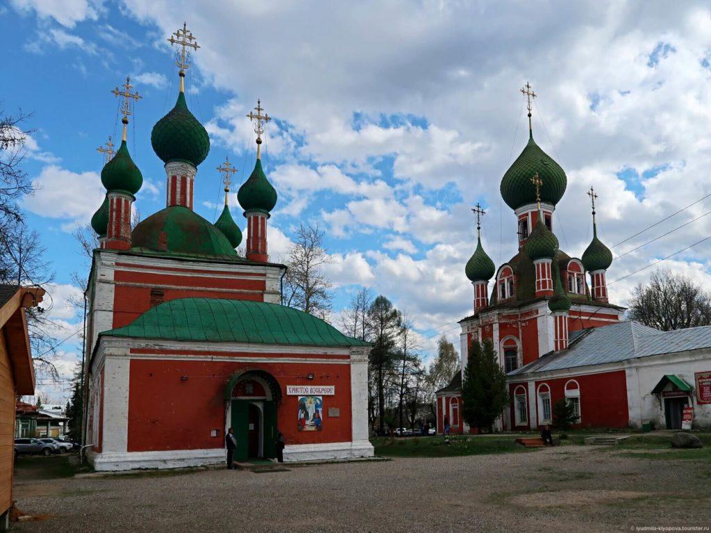 Церковь Александра Невского и Владимирский собор, Переславль-Залесский