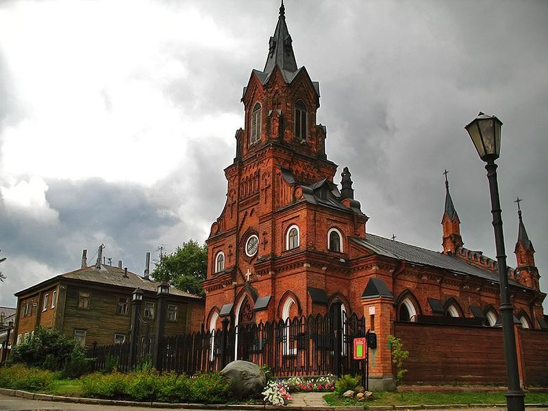 Католическая церковь Святого Розария, Владимир