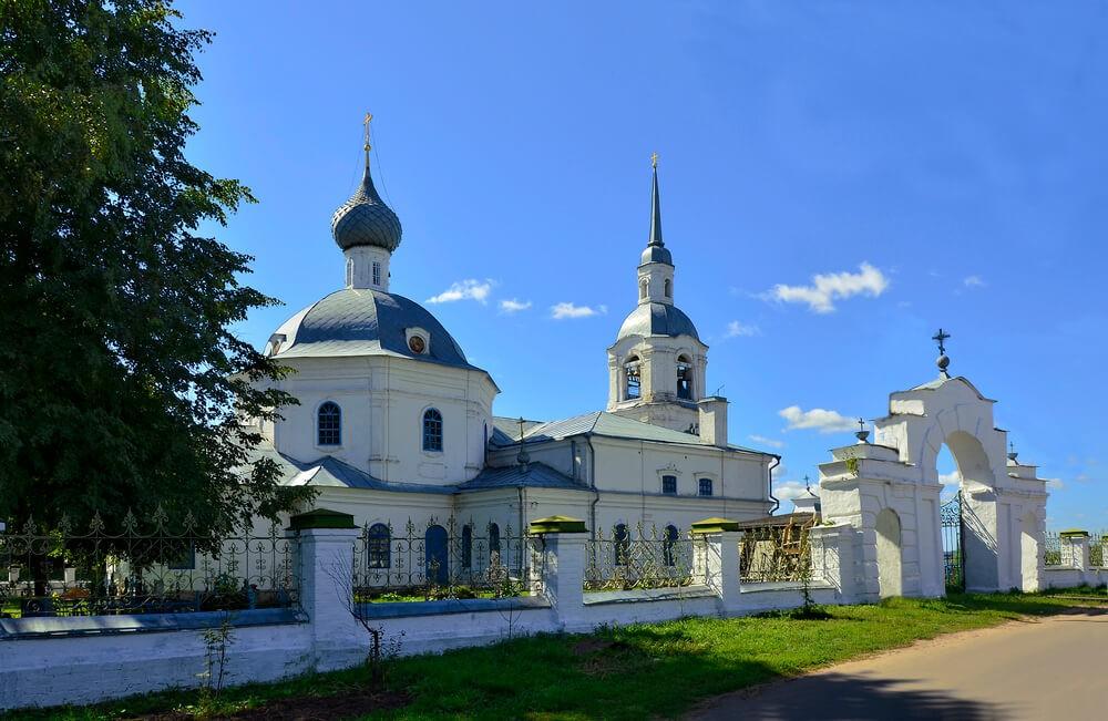 Церковь Александра и Антонины Римских в Селище, Кострома