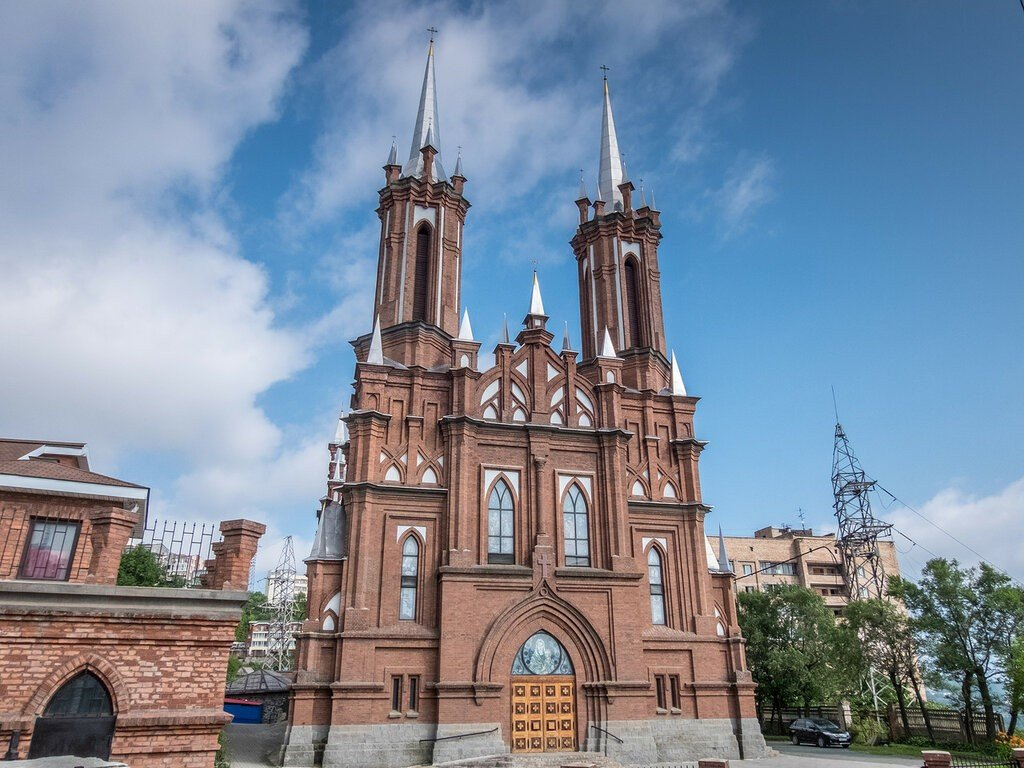 Католическая церковь Пресвятой Богородицы, Владивосток