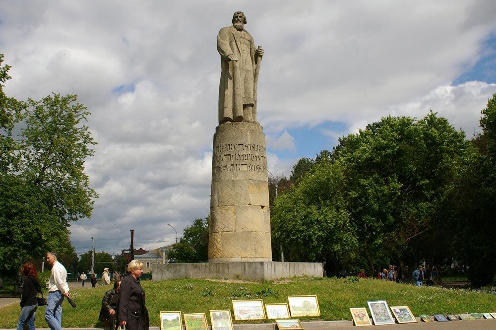 Памятник Ивану Сусанину, Кострома