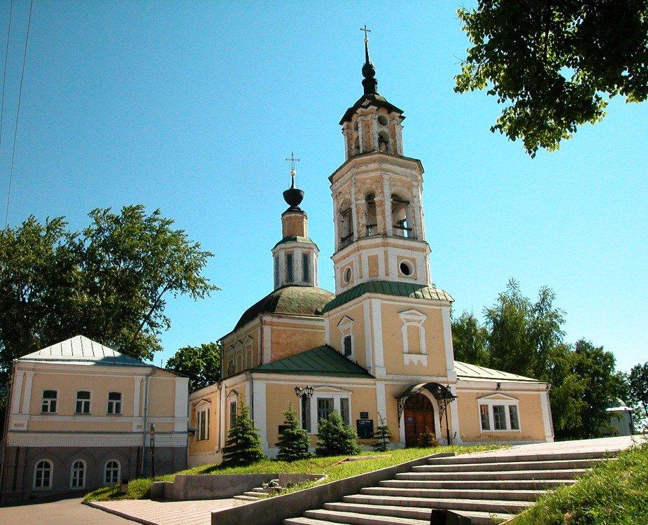Владимирский планетарий и Николо-Кремлевская церковь, Владимир