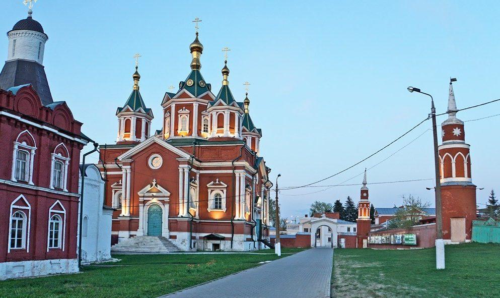 Успенский Брусенский монастырь, Коломна