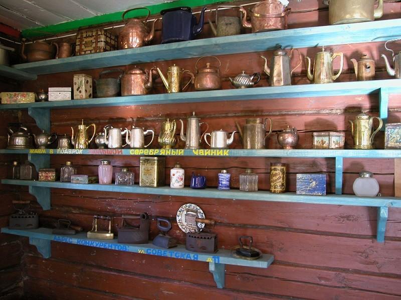 Музей чайников, Переславль-Залесский