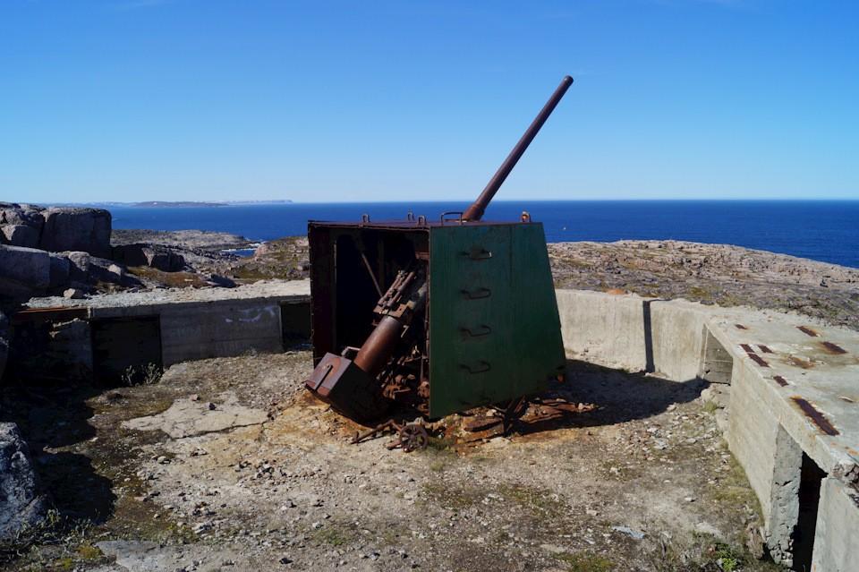 Артиллерийская батарея береговой обороны, Териберка