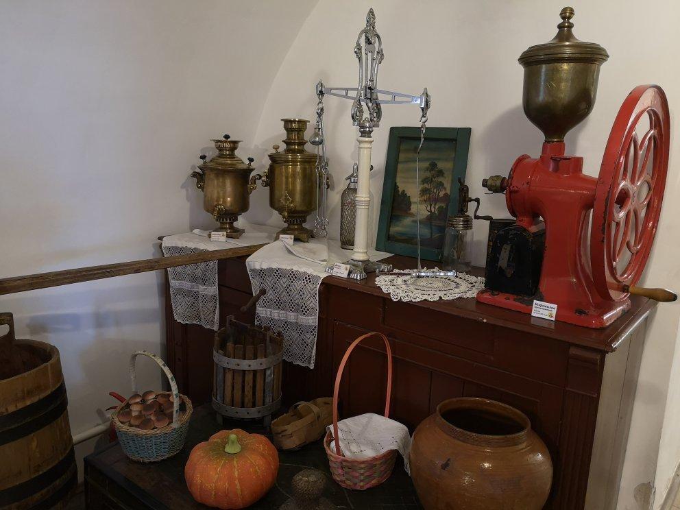 Музей кухонной машинерии, село Вятское