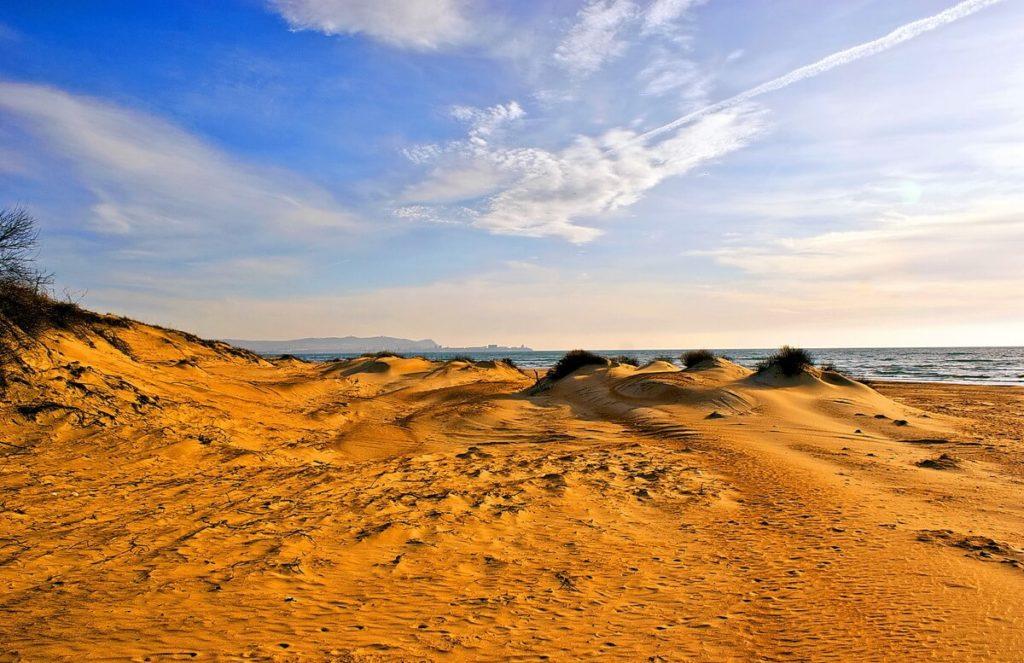 Песчаные барханы витязево