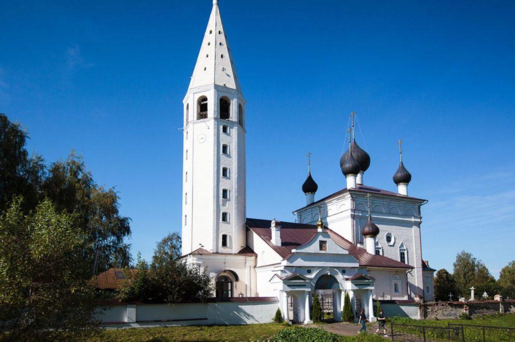 Церковь Воскресения Христова, село Вятское