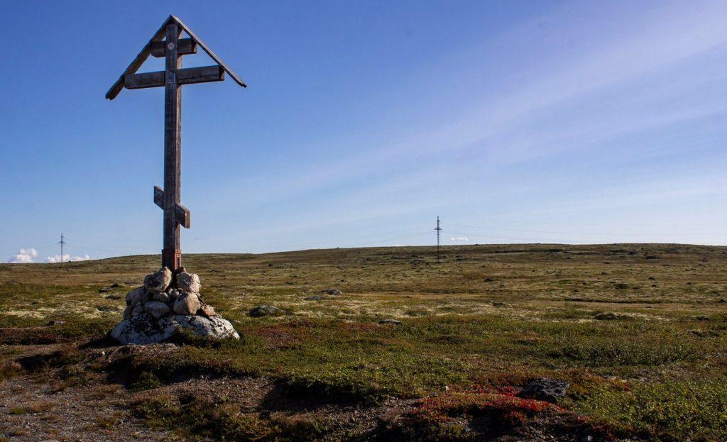 Поклонные кресты, Териберка