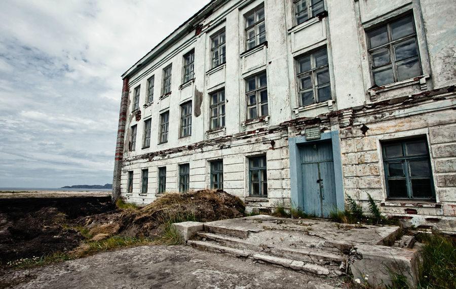Заброшенная школа, Териберка