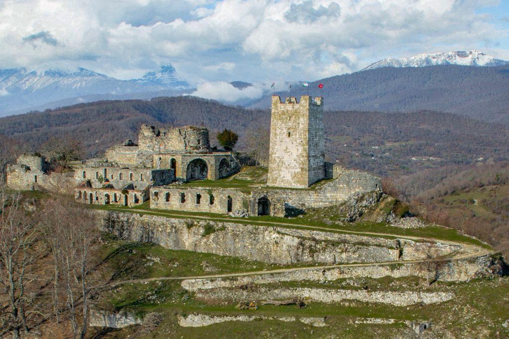Анакопийская крепость, Новый Афон