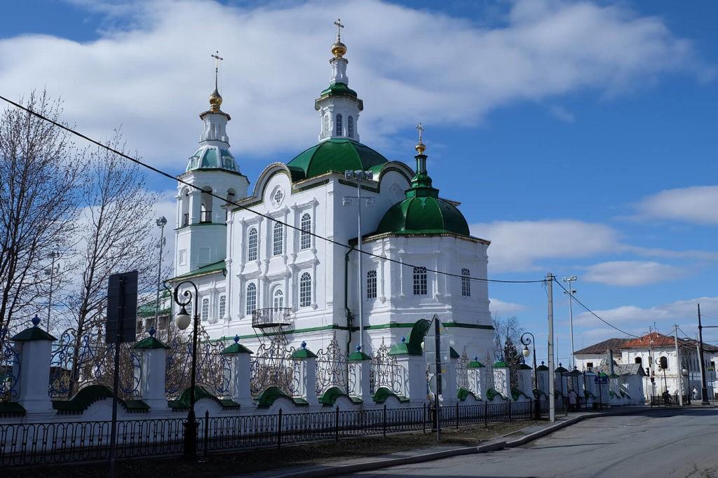 Храм Архангела Михаила, Тобольск