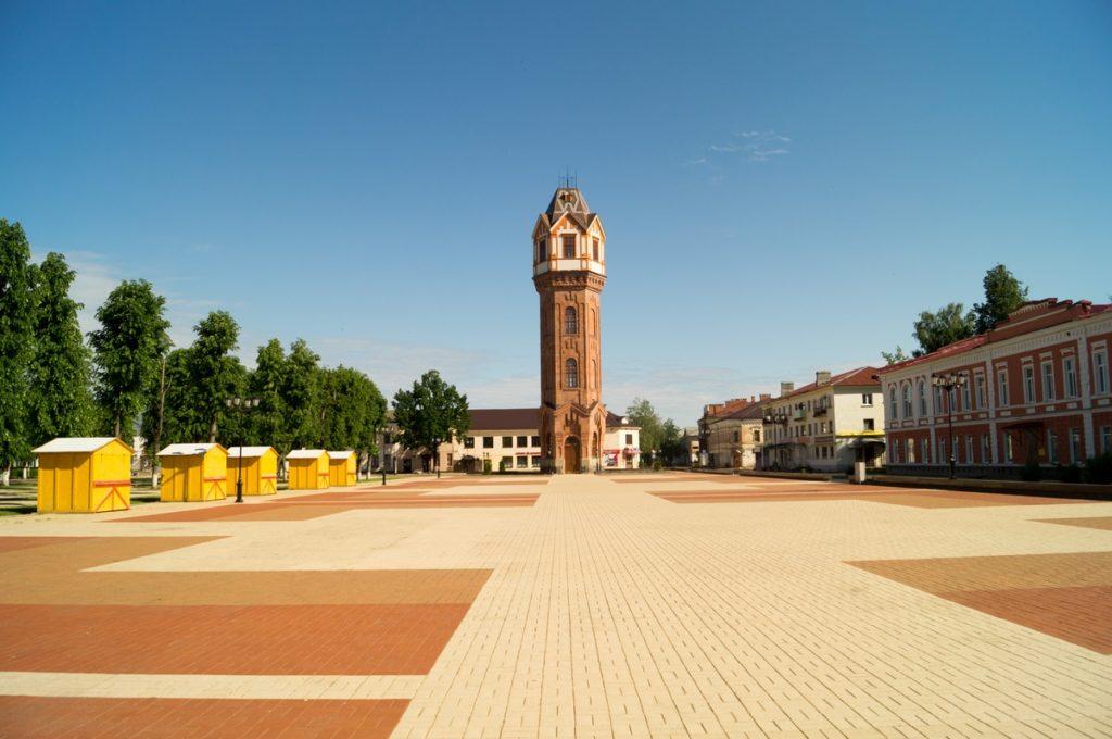Соборная площадь, Старая Русса