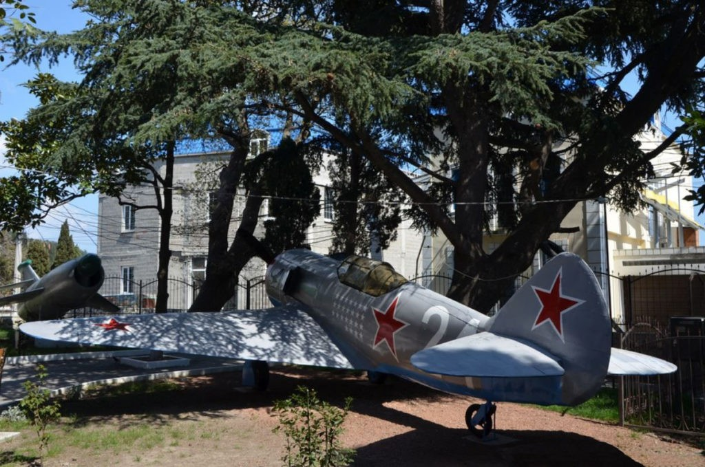 Музей летчика-испытателя Амет-Хана Султана, Алупка