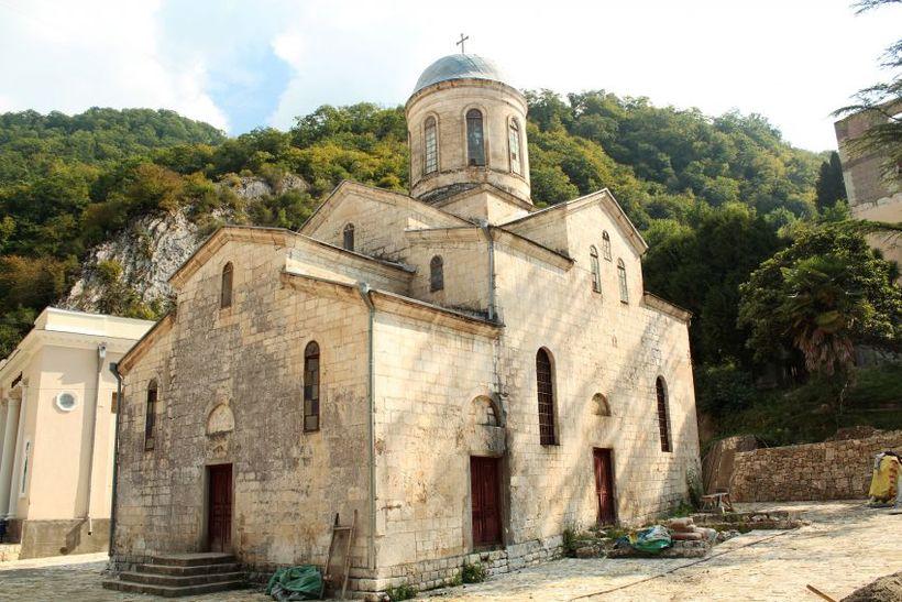 Храм Симона Кананита, Новый Афон