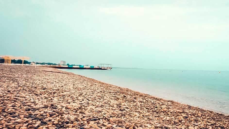 Центральный пляж «Камешки», Феодосия