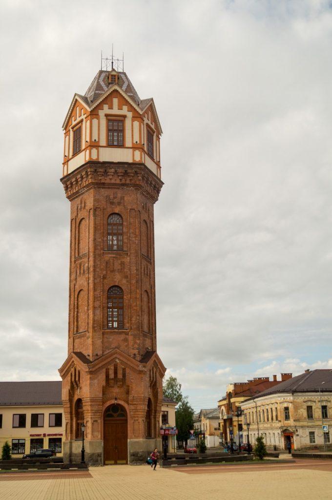 Водонапорная башня, Старая Русса