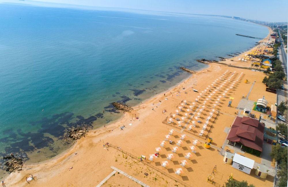 Золотой пляж, Феодосия