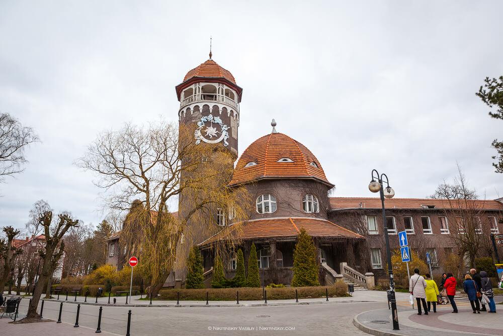 Водонапорная башня Раушена, Светлогорск