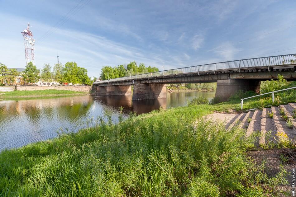 Живой мост, Старая Русса