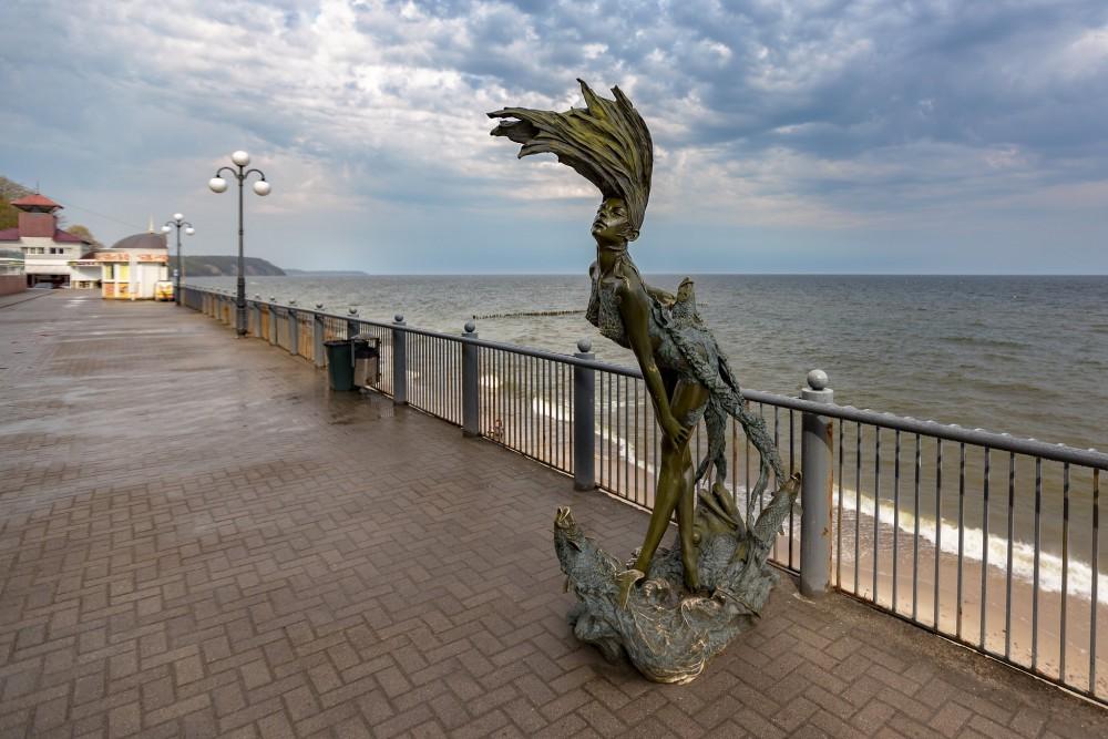 Скульптура «Ундина», Светлогорск