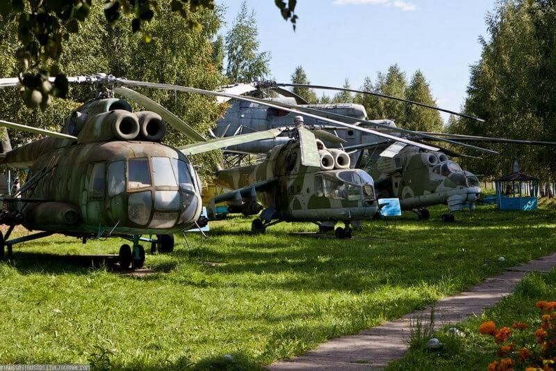 Музей вертолетов, Торжок