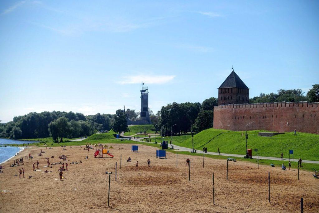 Кремлевский пляж, Великий Новгород