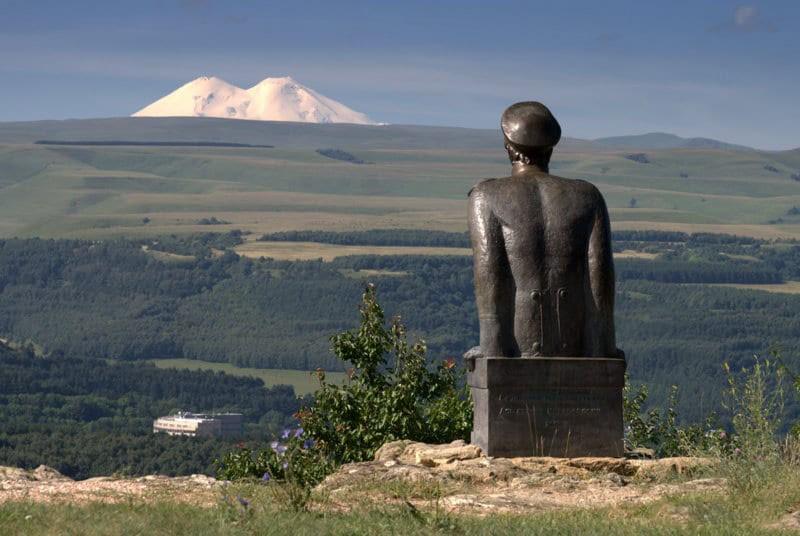 Памятник Лермонтову, Кисловодск