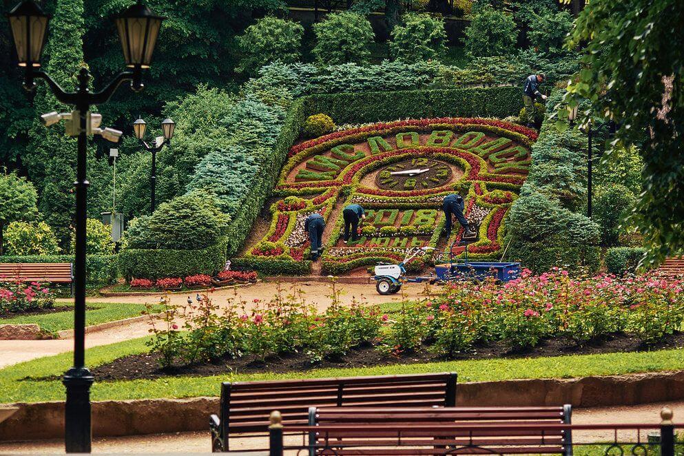 Цветочный календарь, Кисловодск