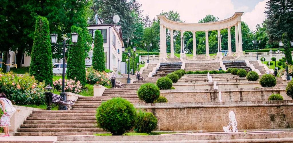 Каскадная лестница, Кисловодск