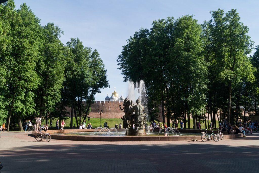 Кремлёвский парк, Великий Новгород
